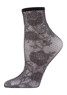 Natori Women's Chantilly Sheer Shortie Socks