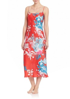Natori Chianti Charmeuse Gown