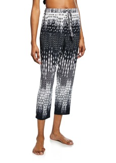 Natori Cozumel Graphic-Print Lounge Pants