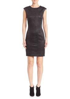 Natori Crinkle V-Back Dress