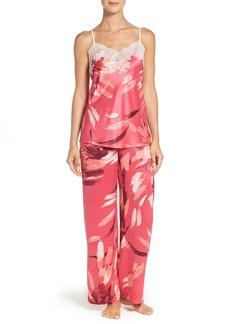 Natori 'Dahlia' Print Pajamas