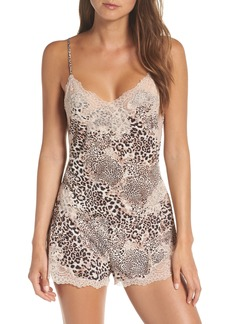 Natori Exotic Animal Enchant Romper
