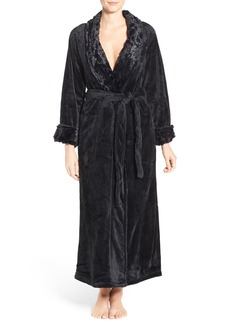 Natori Faux Fur Robe