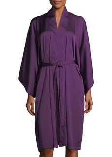 Natori Feathers  Satin Robe