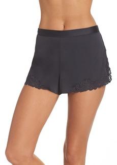 Natori Feathers Satin Shorts