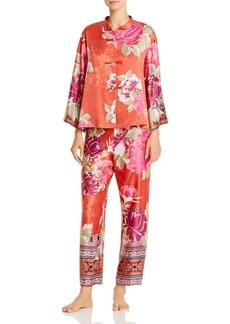 Natori Floral Fusion Pajama Set