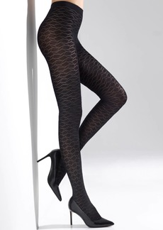 Natori Geo Diamond Opaque Tights