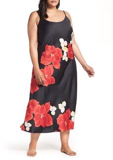 Natori Ginza Charmeuse Gown (Plus Size)