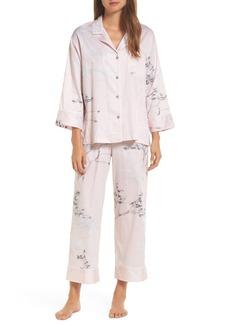 Natori Hakone Sateen Pajamas