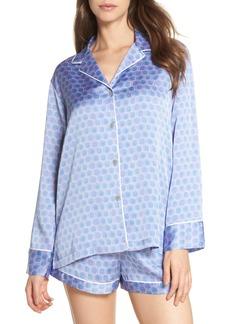 Natori Honeycomb Short Pajamas