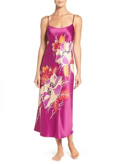 Natori 'Imperial' Floral Print Long Nightgown