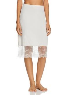 Natori Infinity Lace-Trim Slip Skirt