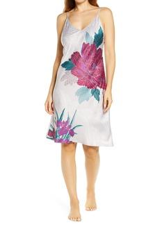 Natori Jubako Floral Nightgown
