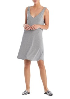 Natori Knit V Neck Nightgown