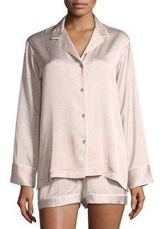 Natori Labyrinth Satin Short Pajama Set