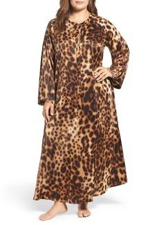 Natori Leopard Caftan (Plus Size)