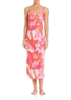 Natori Lucent Palms Gown
