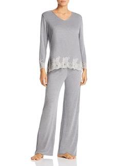 Natori Luxe Shangri-La Pajama Set