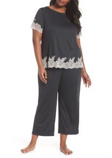 Natori Luxe Shangri-La Pajamas (Plus Size)