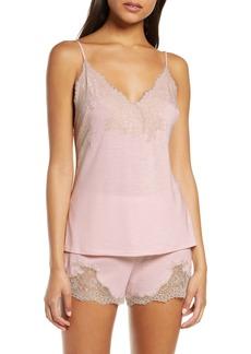 Natori Luxe Shangri-La Short Pajamas