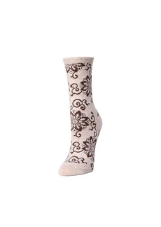 Natori Medallion Socks