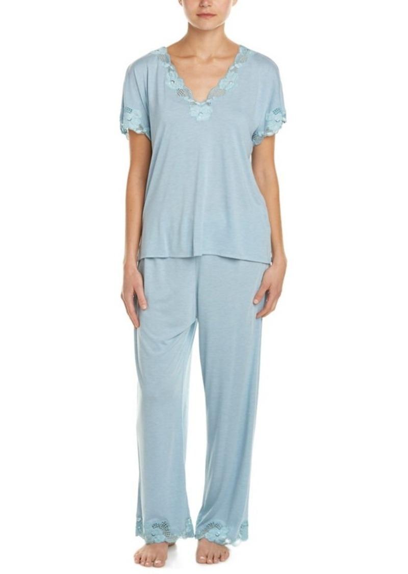 Natori Natori 2pc Zen Floral Pajama Set