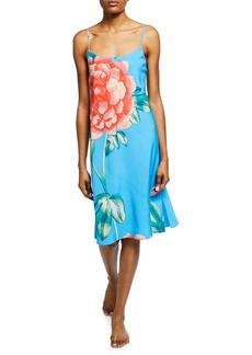 Natori Nova Floral-Print Nightgown