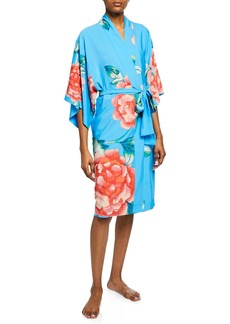 Natori Nova Floral-Print Robe