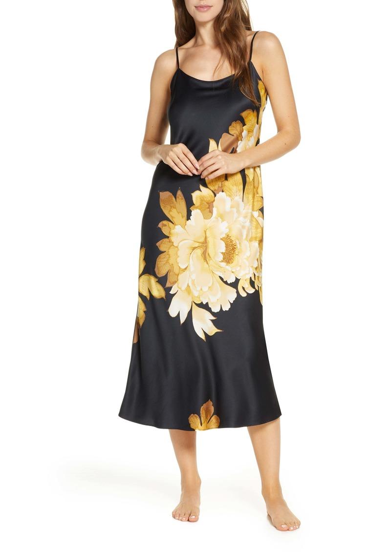 Natori Opulent Midi Nightgown