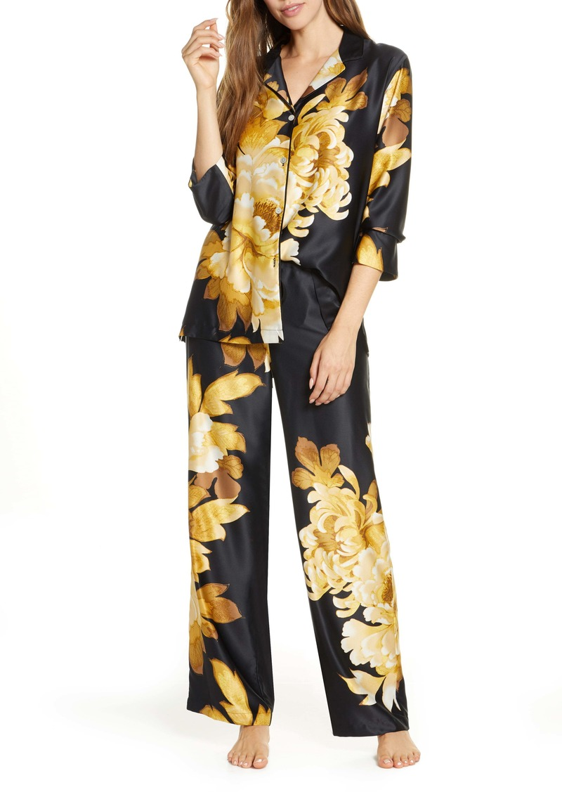 Natori Opulent Satin Pajamas