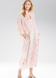 Natori Orchid Spray Long Sleepshirt