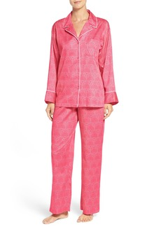 Natori Print Cotton Pajamas