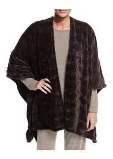 Natori Reversible Blanket Shawl