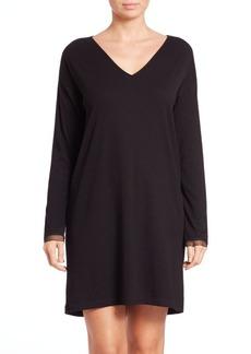 Natori Rib-Knit Sleepshirt