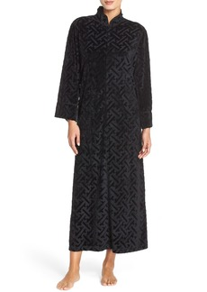 Natori 'Ritz' Velour Zip Robe