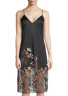 Natori Saipan Embroidered Chemise
