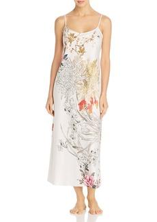 Natori Satin Printed Gown