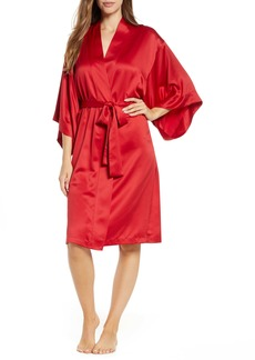Natori Satin Wrap Robe
