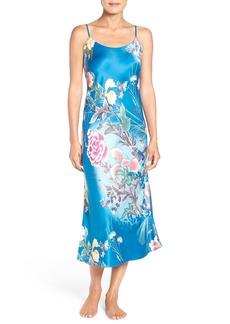 Natori 'Serene' Print Charmeuse Nightgown
