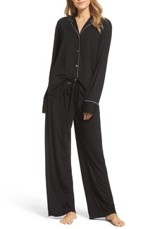 Natori Shangri La Notch Collar Pajamas