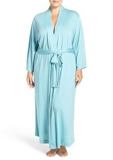 Natori 'Shangri-La' Robe (Plus Size)