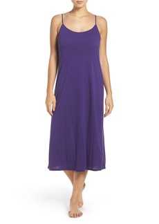 Natori 'Shangri-La' Scooped Back Knit Gown