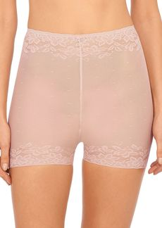 Natori Sheer Glamour High Rise Boyshorts