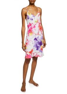 Natori Soleil Floral-Print Nightgown