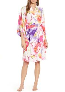 Natori Soleil Floral Print Robe