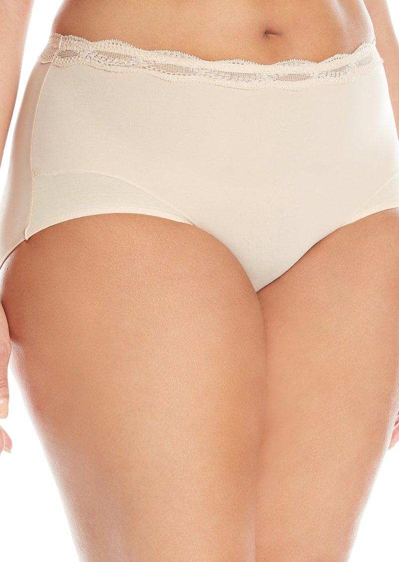 Natori +Support Women's Plus Size Pure Allure Girl Brief Panty