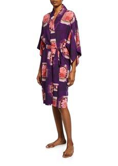 Natori Terra Floral-Print Robe