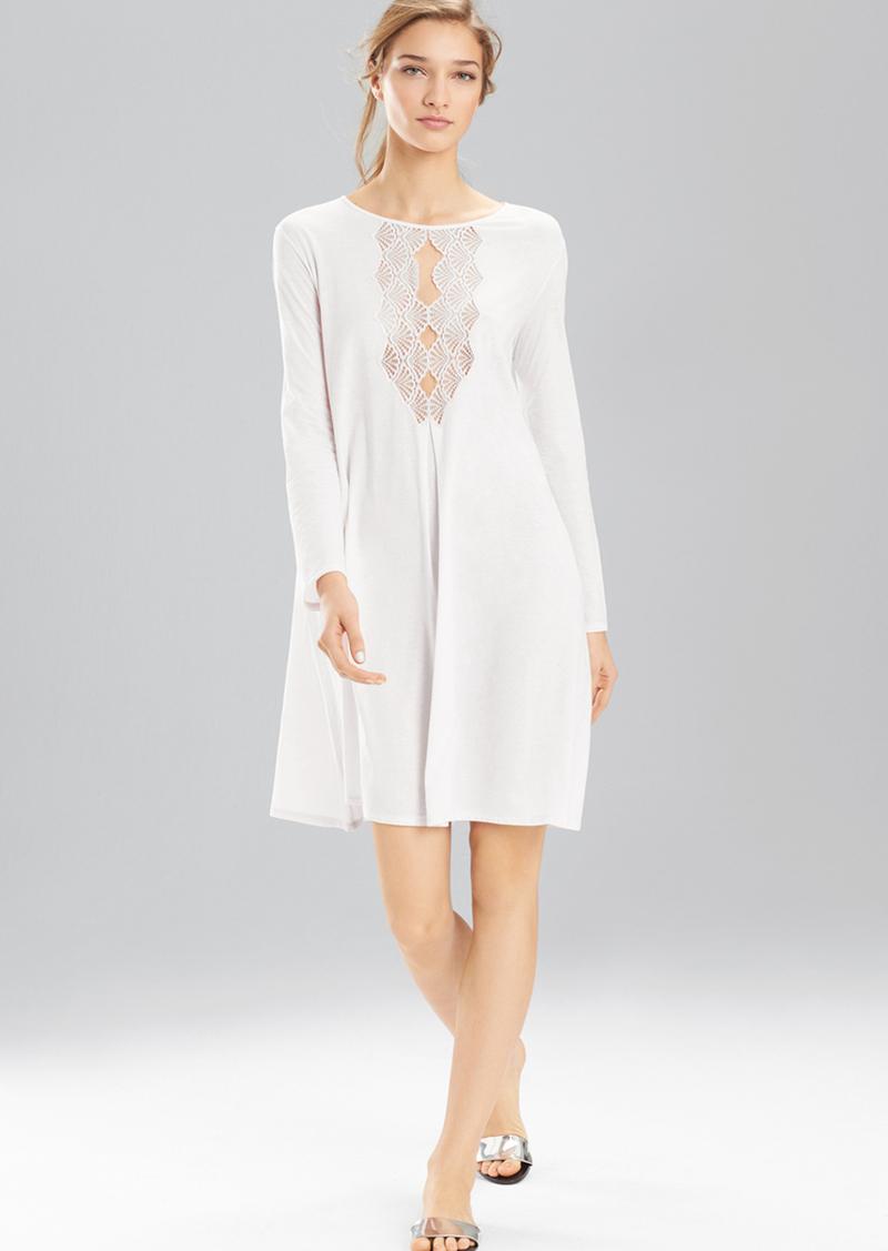 Natori Tranquility With Lace Sleepshirt