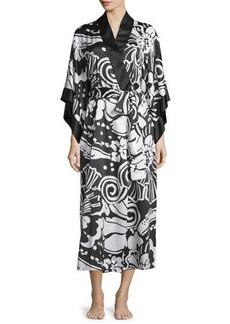 Natori Tuvala Floral-Print Robe