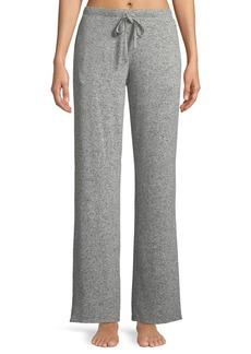 Natori Ulla Brushed Rib-Knit Lounge Pants